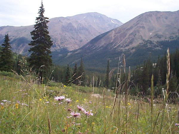 Further to the east-southeast you can finally see Mount Elbert.