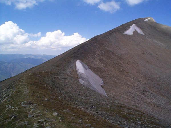 East Mount Sopris from the false summit.