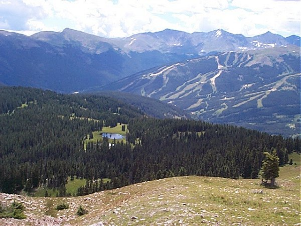 Wheeler Lakes and Copper Mountain Ski Area.