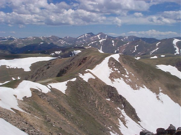 And an even better shot of Grays and Torreys.