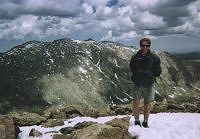That's me standing on the summit.