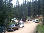 Where did all of those cars at the trailhead come from?  The Crack of Noon Club?