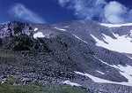 The trail continues to climb towards the summit of Grays Peak.