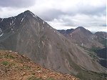Torreys Peak (left) and Grizzly Peak (right distant).