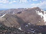 Horseshoe Mountain (13,989 feet) is about 1.6 miles south of the summit.